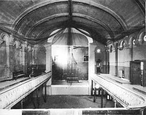 Interior of Wilton's Music Hall