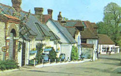 School Hill, Findon.1979